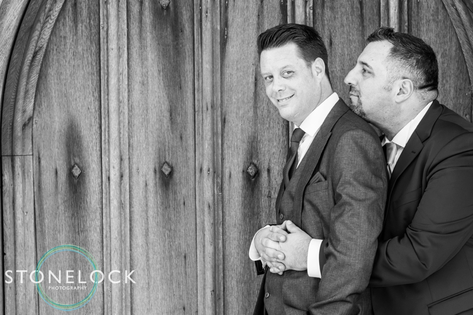Wedding photography at Lympne Castle, Kent.
