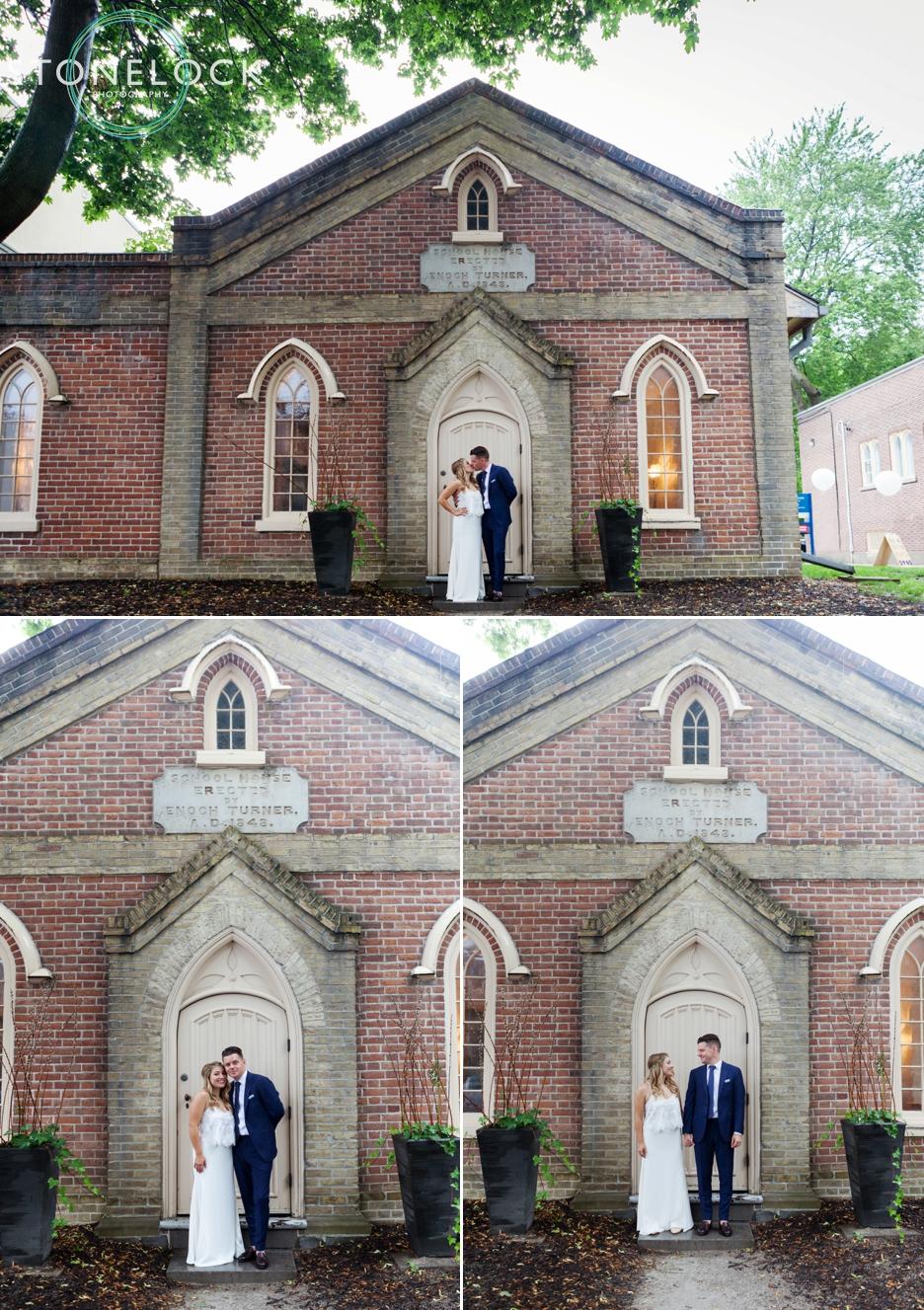 Enoch Turner School, Toronto, Canada, Wedding Photography, bride and groom