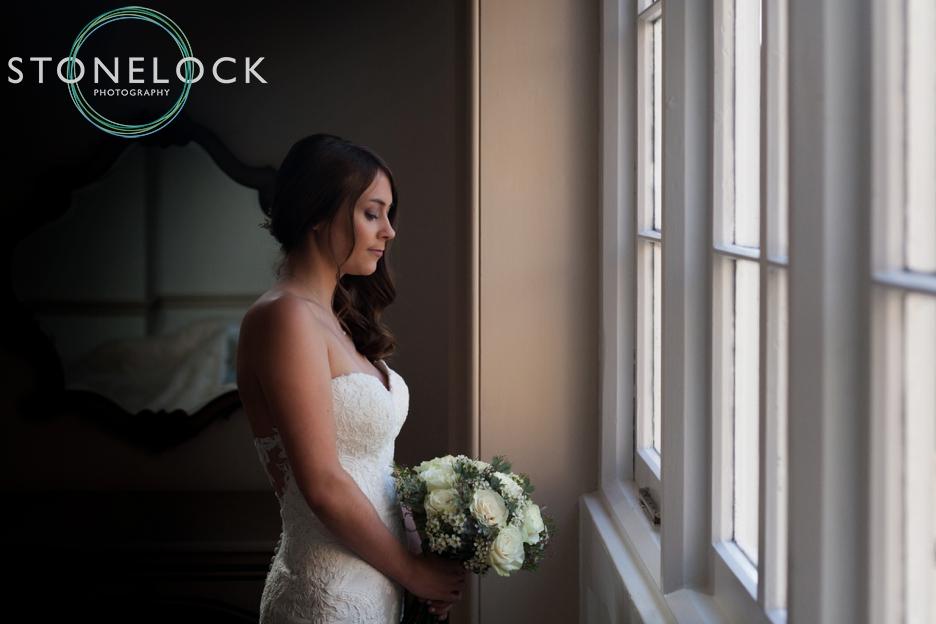 Bridal prep at Nonsuch Mansions, Cheam, Surrey. Wedding Photography.