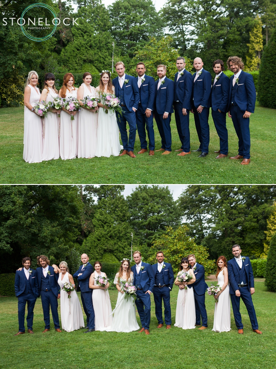 We. The bridal party.