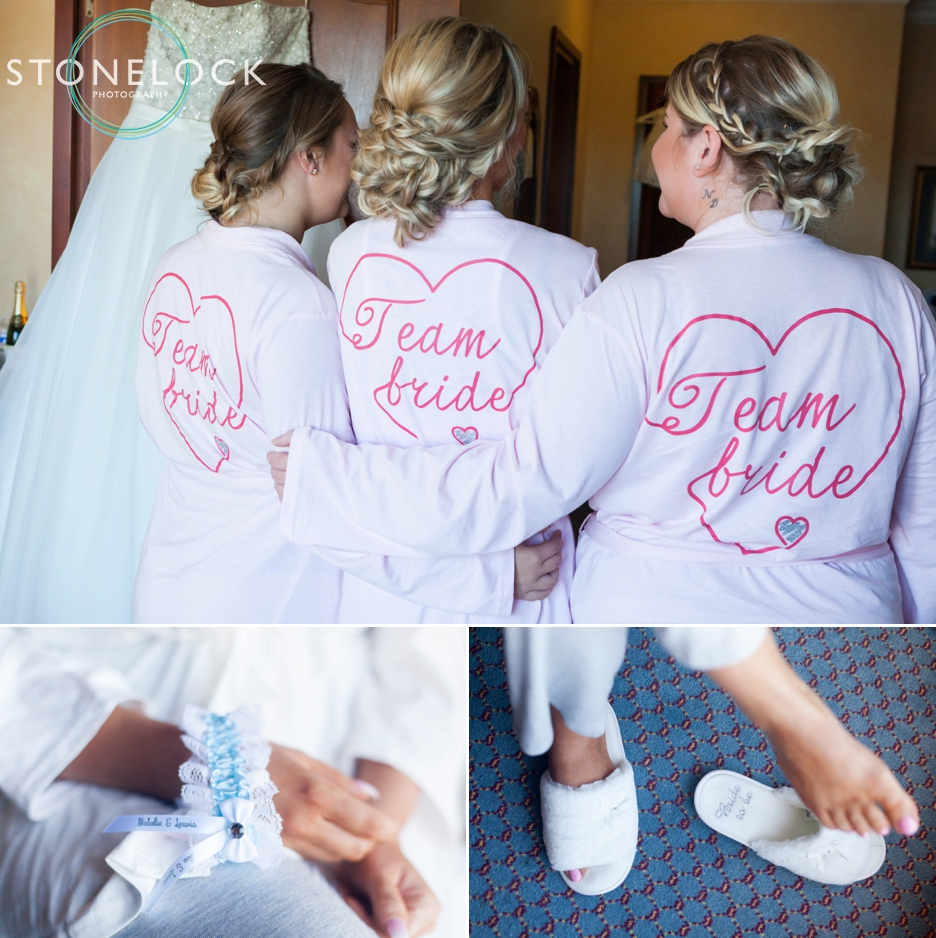Bridal preparations at Copthorne Effingham Park Hotel Surrey