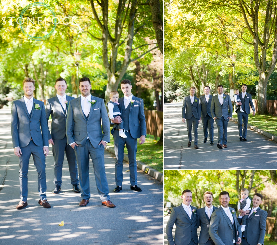 Groom and groomsman at Copthorne Effingham Park Hotel Surrey