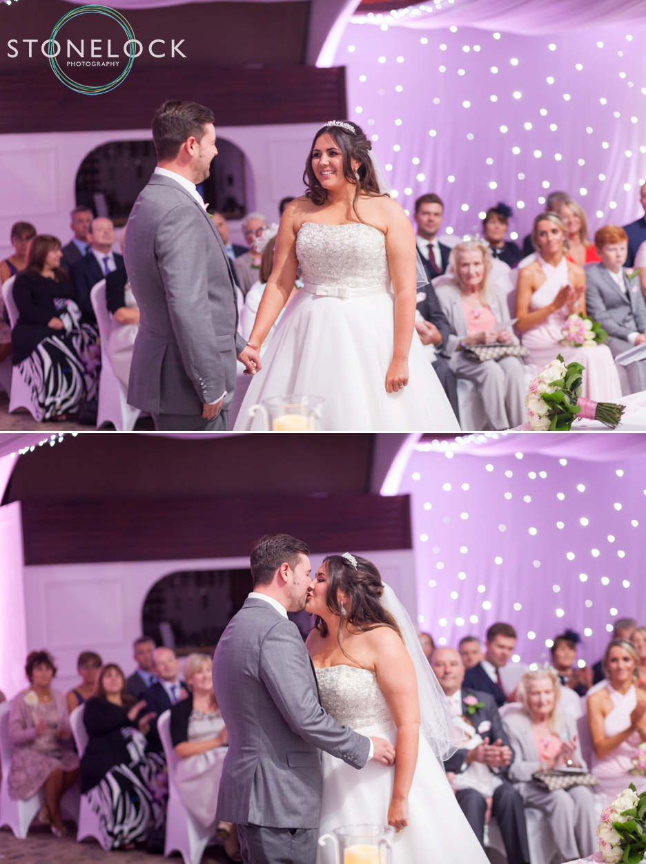 The Wedding ceremony at Copthorne Effingham Park Hotel Surrey