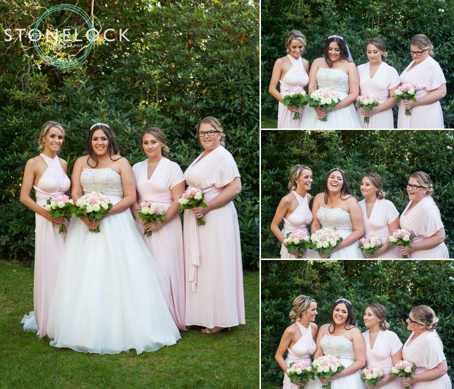 The Bridal Party Wedding Photography at Copthorne Effingham Park Hotel Surrey