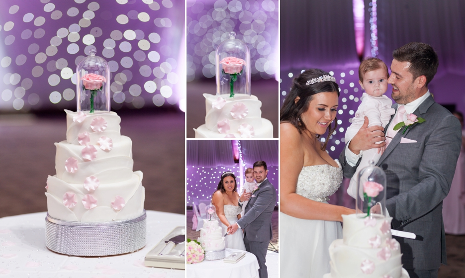 Wedding reception at Copthorne Effingham Park Hotel Surrey