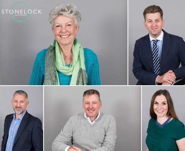 A few of the headshots from the Spring pop-up