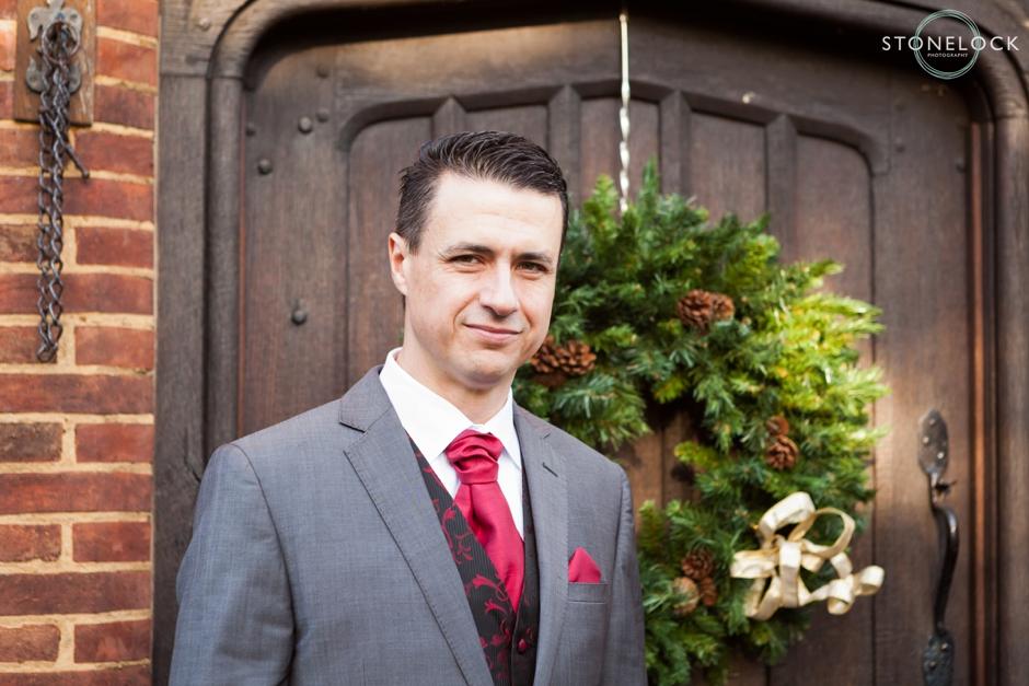 Oaks Farm, Croydon, Surrey, Winter wedding photography