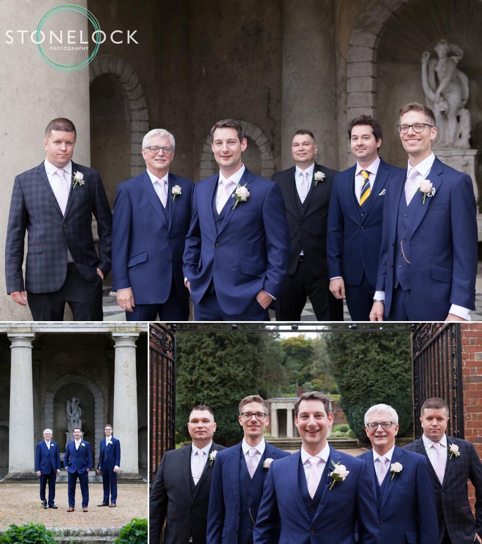 A groom & his groomsmen