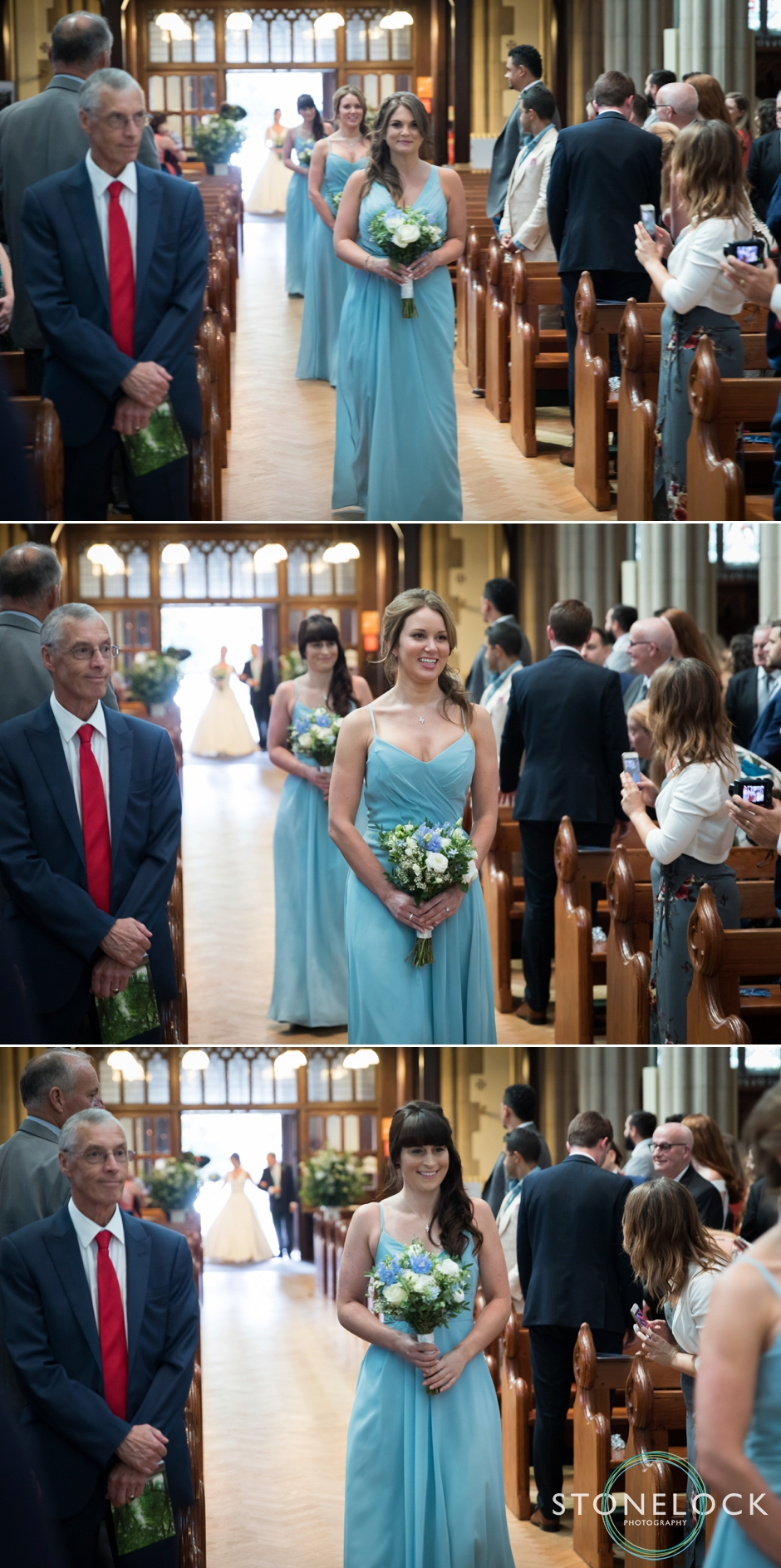 Wedding at Sacred Heart Church in Edge Hill Wimbledon