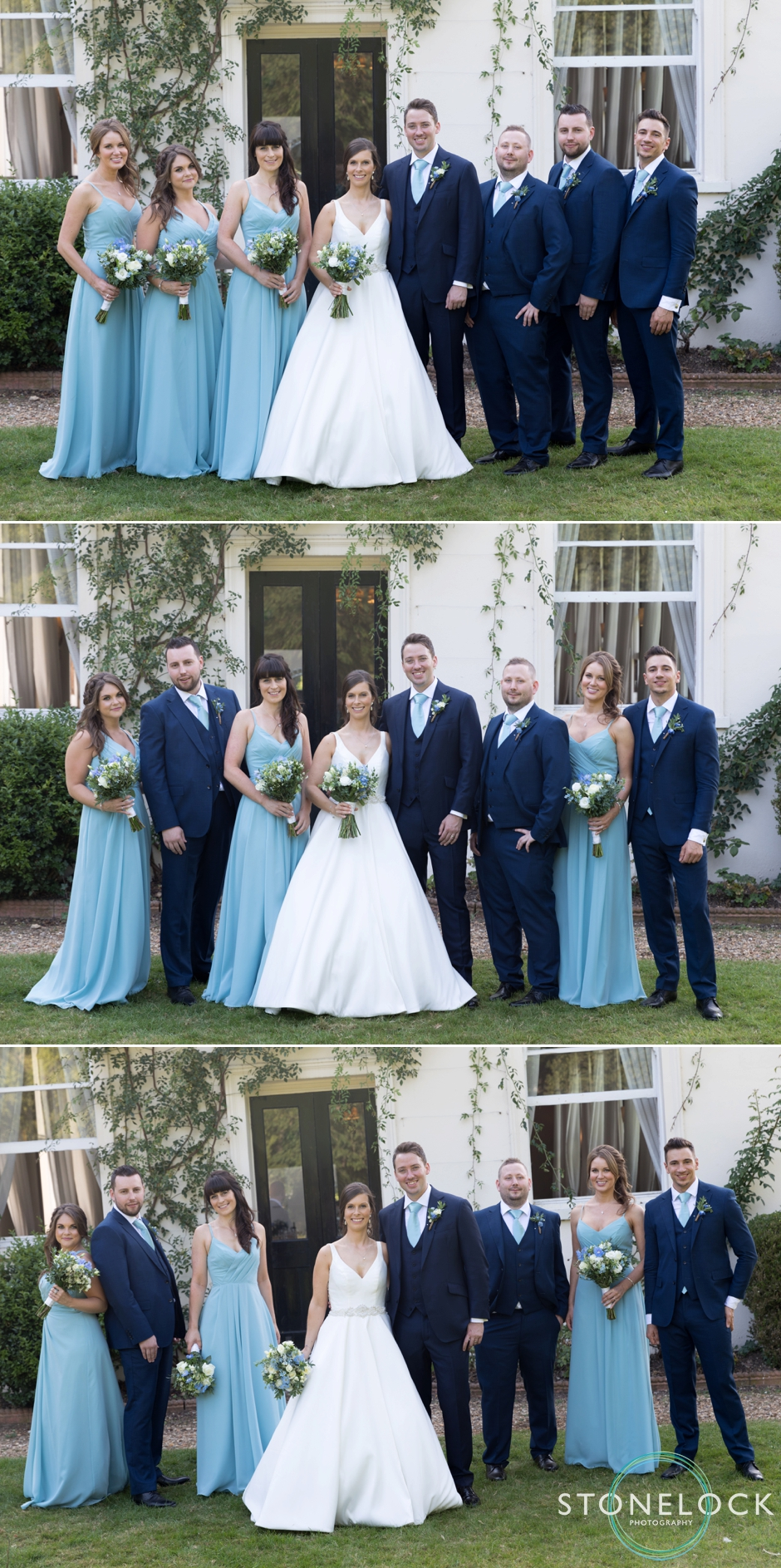 Bridal Party at Morden Hall Weddings