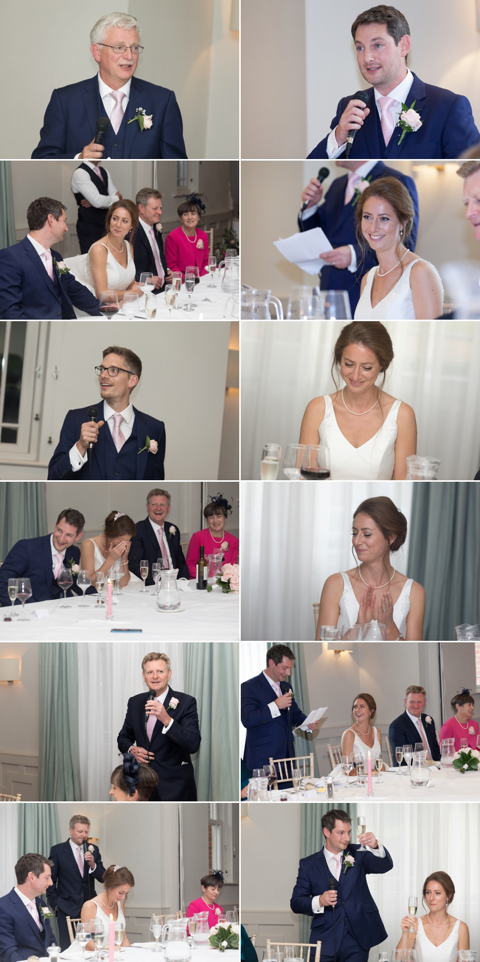 Wotton House wedding photography the speeches