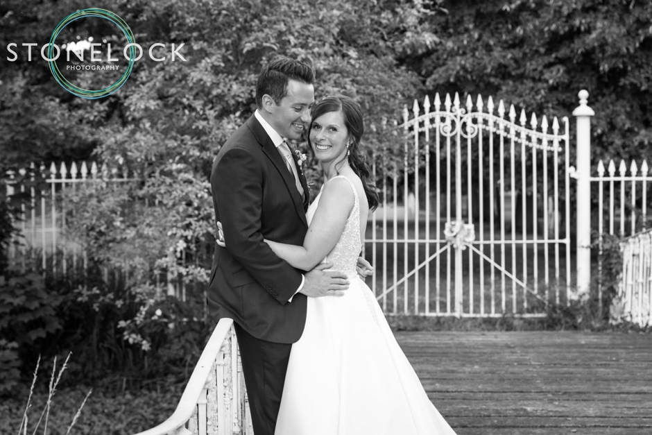 Bride & Groom at Morden Hall Weddings