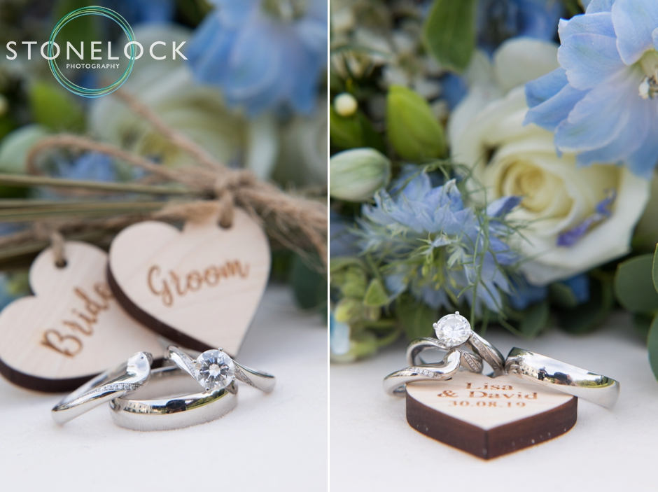 Weddings rings at Morden Hall Weddings