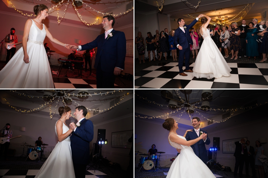 Wotton House wedding photography, the first dance