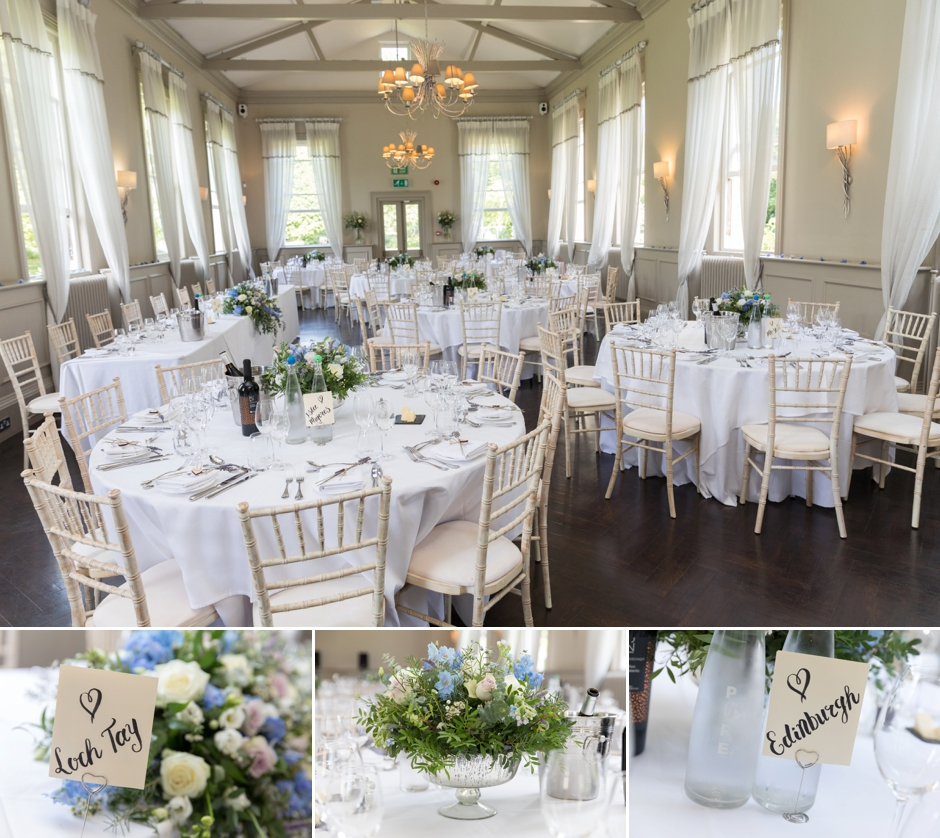 Reception at Morden Hall Weddings