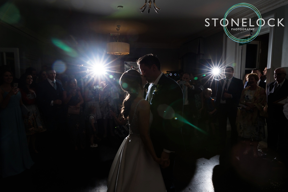 The first dance at Morden Hall Weddings